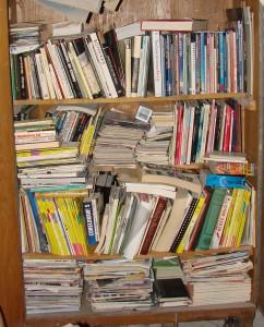Nicht nur Schulbücher aus 15 Jahren Schulzeit