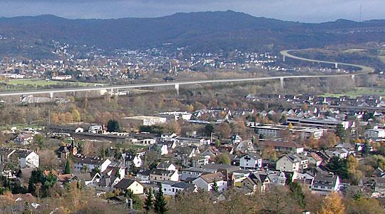Rheinbrücke - Retusche by allgrafics