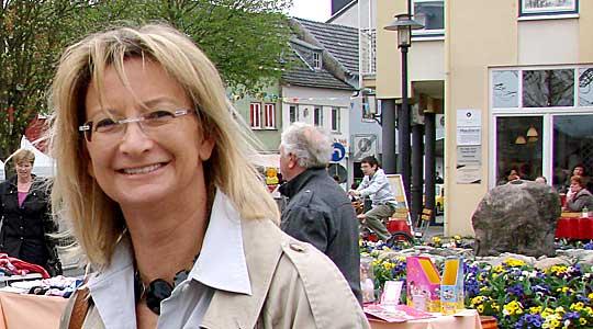 Silvia Mühl bietet Bürgersprechstunde an.
