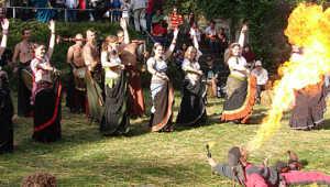 13. Mittelalterlicher Barbarossamarkt 2016 @ Schlosspark Sinzig   Sinzig   Rheinland-Pfalz   Deutschland