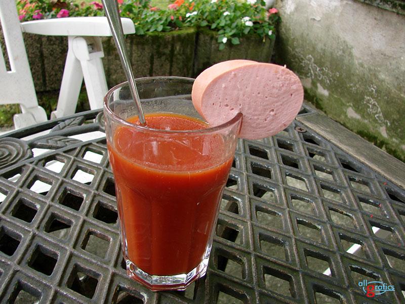 Fleischwurst Gemuese Cockt