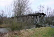 Interessante Brücken im Ahrtal - Die Brücke an der Ahrmündung