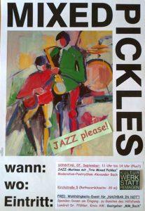 Jazz-Matinee mit Poetry-Slam! @ Kulturwerkstatt Remagen   Remagen   Rheinland-Pfalz   Deutschland