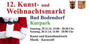 Kunst- und Weihnachtsmarkt @ Kurpark Bad Bodendorf | Sinzig | Rheinland-Pfalz | Deutschland