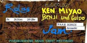 Musik im Portugiesischen Kulturverein @ Portugiesischer Kulturverein | Sinzig | Rheinland-Pfalz | Deutschland