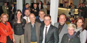Foto V. l. n. r.: Silvia Mühl, Melanie Andres, Alex Welsch, Hermann Krupp, Jürgen Andres, Andreas Schwerter, Harald Monschau, Claudia Flück, Maren Andres