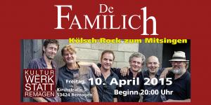 De Familich in der Kulturwerkstatt Remagen @ Kulturwerkstatt Remagen | Remagen | Rheinland-Pfalz | Deutschland