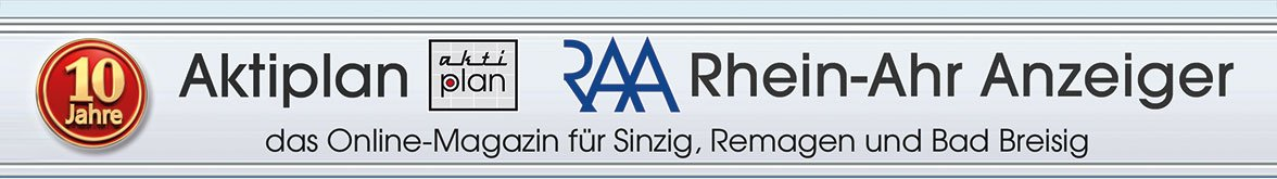 Aktiplan, der Rhein-Ahr Anzeiger -- das Online-Magazin für Sinzig, Remagen und Bad Breisig