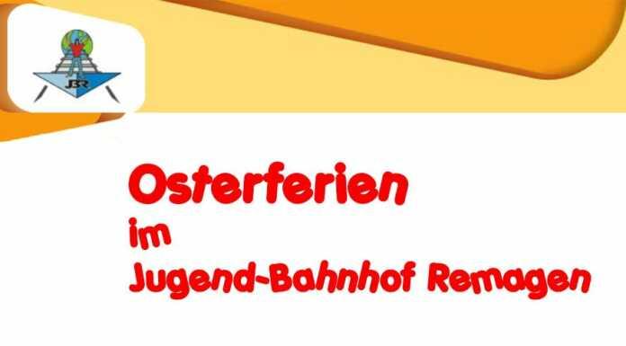 Osterferienprogramm 2017 im Jugendbahnhof Remagen