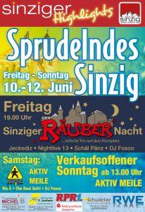 """2. Sinziger """"Räuber""""-Nacht"""