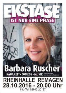 Barbara Ruscher @ Rheinhalle Remagen | Remagen | Rheinland-Pfalz | Deutschland