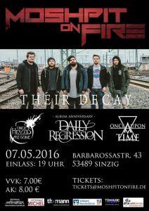 Moshpit on Fire @ HOT Sinzig | Sinzig | Rheinland-Pfalz | Deutschland