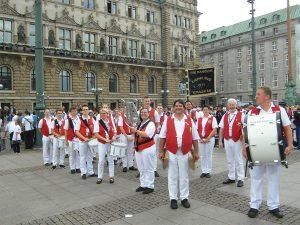 """Spielmannszug Rheinklänge Remagen e.V. zu Gast beim 25.internationalen Musikfestival """"Fest der Nationen"""" an der Waterkant"""