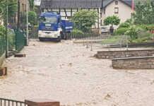 Hochwasser Oedingen