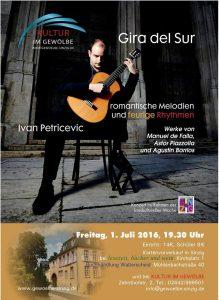 Ivan Petricevic - Gira del Sur @ Kultur im Gewölbe | Sinzig | Rheinland-Pfalz | Deutschland