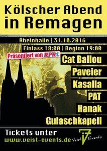 Kölscher Abend @ Rheinhalle Remagen | Remagen | Rheinland-Pfalz | Deutschland