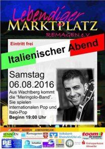 Italienischer Abend - Lebendiger Marktplatz @ Marktplatz Remagen   Remagen   Rheinland-Pfalz   Deutschland