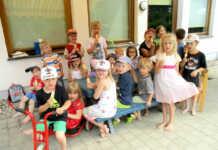 Kinder der Villa Kunterbunt Goennersdorf