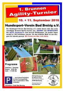 1. Brunnen-Agility-Turnier @ HSV Bad Breisig   Bad Breisig   Rheinland-Pfalz   Deutschland