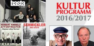 Kulturprogramm Remagen 2016-17