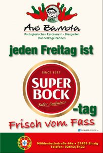 Super Bock bei Avo Barrota @ Avo Barrota | Sinzig | Rheinland-Pfalz | Deutschland