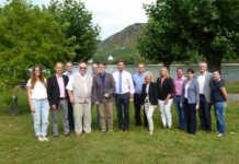 Die Touristiker von Romantischer Rhein e. V. bei Ihrer Mitgliederversammlung am 31.8.16 in Andernach