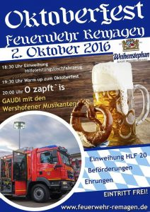 Oktoberfest in Remagen @ Feuerwehr Remagen