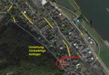 Brohl-Lützing . Zur Durchführung von Sanierungsarbeiten an einem Wohnhaus ist es erforderlich, die Bergstraße in Höhe von Anwesen Nr. 8 voll zu sperren