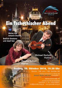Kammermusik mit  Michael Dartsch und  Monika Tschurl @ Gewölbe im Zehnthof | Sinzig | Rheinland-Pfalz | Deutschland