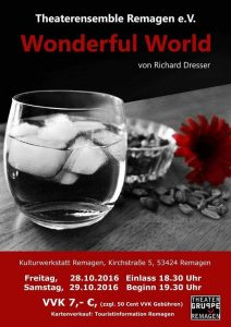 Wonderful World - Theaterensemble Remagen @ Kulturwerkstatt Remagen | Remagen | Rheinland-Pfalz | Deutschland