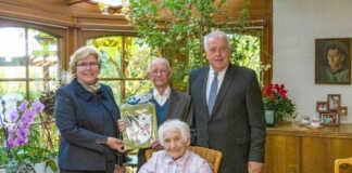 105 Jahre alt - Herr Labus