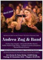 Konzert mit Andrea Zug @ St. Peter zu Sinzig   Sinzig   Rheinland-Pfalz   Deutschland