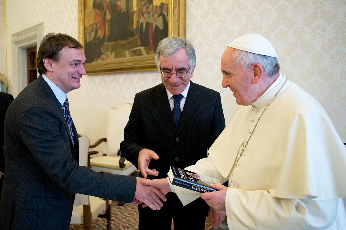 Papst Franziskus Buch Und Vortrag Von Andreas Englisch