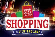 Shopping im Lichterglanz in Remagen