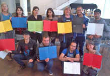 Flüchtlinge erkunden Dada im Arp Museum
