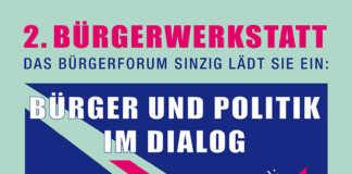 Bürgerforum lädt am 1. Februar um 19 Uhr zur zweiten Bürgerwerkstatt ins Freiwegheim