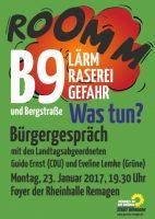 B9 Bürgergespräch mit CDU und Grüne @ Rheinhalle Remagen | Remagen | Rheinland-Pfalz | Deutschland