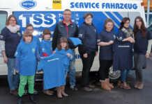 TSS spendet T-Shirts für Sinziger Jugendrotkreuzler