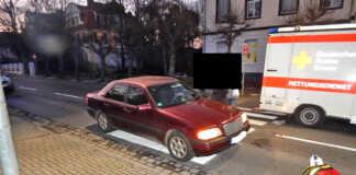 Barbarossastraße Schwerer Verkehrsunfall