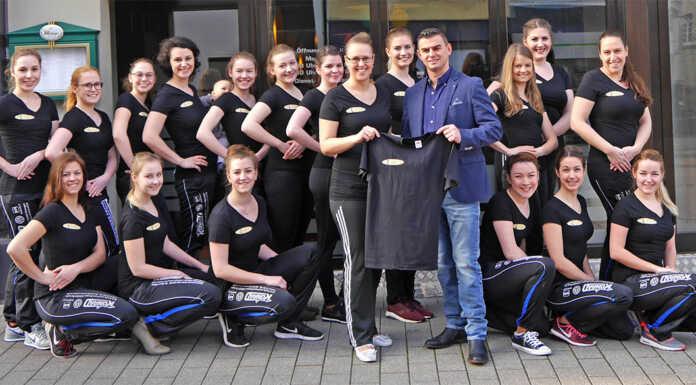 BLUE VELVET La Fontana da Agron sponsert T-Shirts
