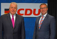 Guido Ernst und Horst Gies - Kreis AW 11000 Unterrichtsstunden ausgefallen