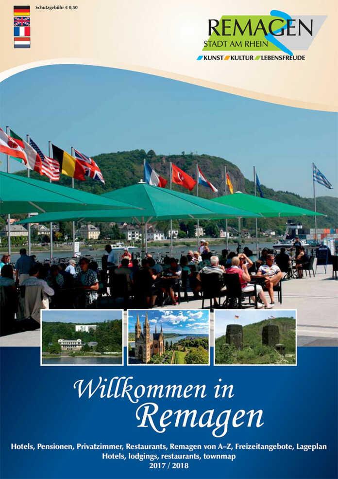 """Neues Gastgeberverzeichnis """"Willkommen in Remagen"""" erschienen"""
