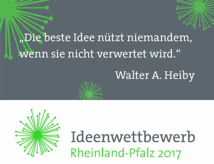 Ideenwettbewerb Rheinland-Pfalz 2017