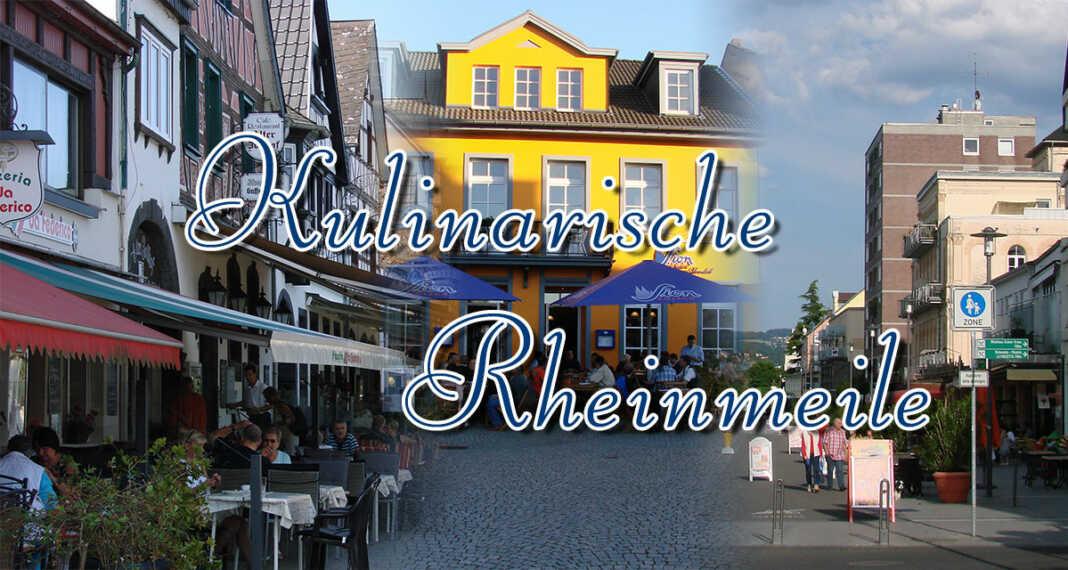 Gastronomie Verzeichnis - Kulinarische Rheinmeile