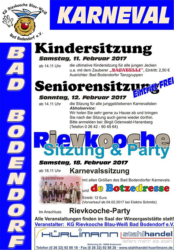 Rievkooche-Sitzung Bad Bodendorf