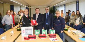 Defibrillatoren für Schulen und Verwaltung