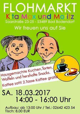 Flohmarkt im Kindergarten Max und Moritz
