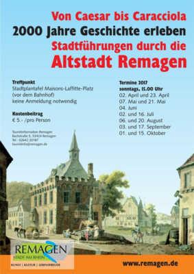 Stadtführung in Remagen 2017 @ Remagen | Remagen | Rheinland-Pfalz | Deutschland