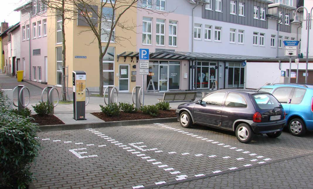 Ladestation für Elektroautos in Remagen