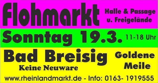 Flohmarkt Goldene Meile Bad Breisig @ Goldene Meile | Bad Breisig | Rheinland-Pfalz | Deutschland